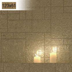 Płytki Złote Kafelki COMPONER Mozaika Szklana 123x61mm