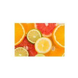 Foto naklejka samoprzylepna 100 x 100 cm - Plastry pomarańczy