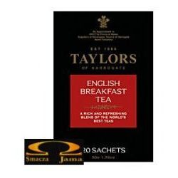 Taylors of Harrogate herbata czarna English Breakfast, 20 saszetek
