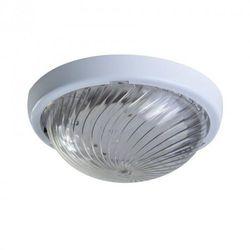 Oprawa oświetleniowa FEN, biała, E27, poliwęglan przeźroczysty ORNO