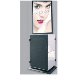 PeTa szafka medialna Konventionmobil SERVE dla wyswietlaczy w formacie pionowym 60 cali