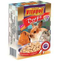VITAPOL dropsy dla gryzoni jogurtowe 75g