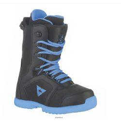 Snowboardowe buty Micro Czarny/Niebieski 24
