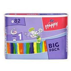 Pieluszki Bella Baby Happy New Born Big Pack 82 szt.