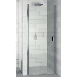 RIHO NAUTIC N101 Drzwi prysznicowe 80x200 LEWE, szkło transparentne EasyClean GGB0602801