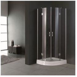 Prysznic rogowy (80 x 80 cm) Zapisz się do naszego Newslettera i odbierz voucher 20 PLN na zakupy w VidaXL!