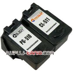 tusze PG510 + CL511 (R) do Canon MP250, MP280, MP230, iP2700, MX360, MP492, MP495