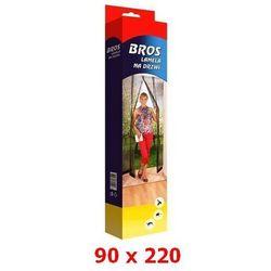 Lamela siatka na drzwi przeciw owadom 90x220cm biała BROS