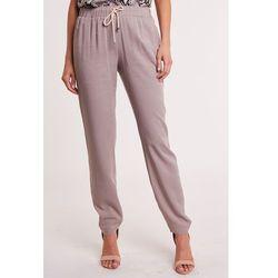 4626f07d54d92a spodnie robocze spodnie damskie z gumka w pasie (od Beżowe spodnie z ...