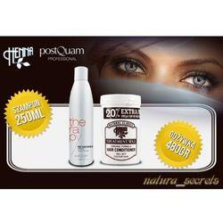 Maska Wax + Szampon 250 ml Postquam Wypadanie Włosów