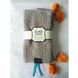 Kocyk Bamboo Tender Blanket - Mr Grey
