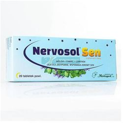 Nervosol ® Sen tabl.powl. 20 tabl.