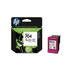 Orygina Tusz HP 704 do Deskjet Ink Advantage 2060   200 str.   CMY
