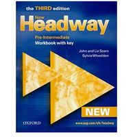 New Headway Pre-Intermediate Workbook with key 3ed (opr. miękka)