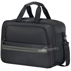 03195cf17e112 American Tourister Summer Voyager torba podręczna kabinowa na ramię / plecak  / czarna - Volt Black