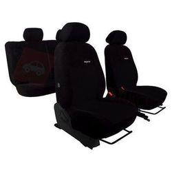 Pokrowce samochodowe ELEGANCE Czarne Hyundai i20 II od 2014 - Czarny