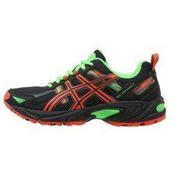 ASICS GELVENTURE 5 Obuwie do biegania Szlak black/flame orange/green gecko