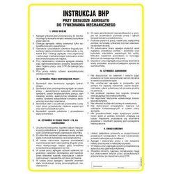 Instrukcja BHP przy tynkowaniu mechanicznym i obsłudze agregatu tynkarskiego