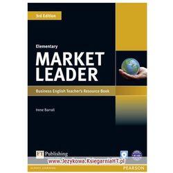 Market Leader Elementary. Książka Nauczyciela + CD (opr. miękka)