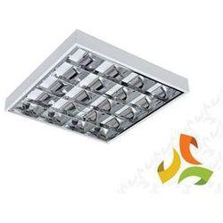 Oprawa, lampa rastrowa 4x18W natynkowa, elektronik KANLUX