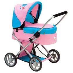 BINO Wózek dla lalek Motylki
