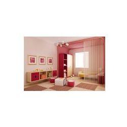 Foto naklejka samoprzylepna 100 x 100 cm - 3d wnętrza pokoju dzieci