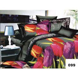 Komplet Pościeli 200x220 Pościel Tulipany 6cz 099 - 099