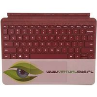 Microsoft Klawiatura Surface GO Signature Type Cover Commercial Burgundy KCT-00047