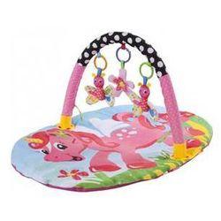 Mata edukacyjna dla dzieci Sun Baby Ponny Niebieska/Żółta/Różowa