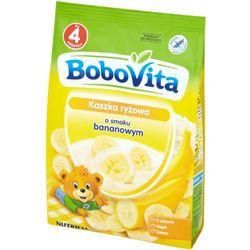 BoboVita Kaszka ryżowa o smaku bananowym po 4 miesiącu 180 g