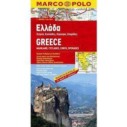 Grecja 1:300 000 - mapa Marco Polo (opr. broszurowa)