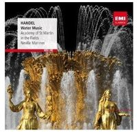 RED LINE - WATER MUSIC - Sir Neville Marriner (Płyta CD)