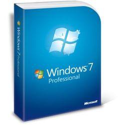 Microsoft Windows 7 Professional PL SP1 64bit bez płyty