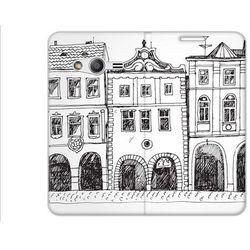 Flex Book Fantastic - Samsung Galaxy Trend 2 Lite - pokrowiec na telefon - kamieniczki