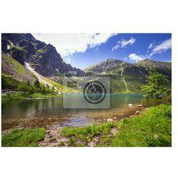 Obraz Piękne krajobrazy z Tatr i jeziora w Polsce