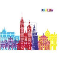 Obraz Krakow skyline pop