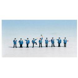 Figurki personelu kolejowego, NOCH, skala N, 9 szt., pomalowane