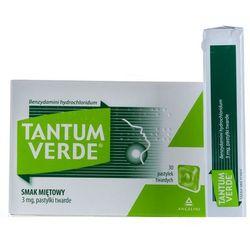 Tantum Verde o smaku miętowym 30 pastylek do ssania