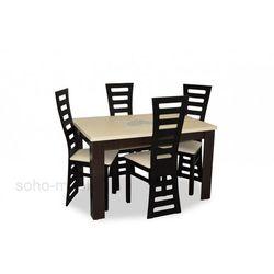 ZESTAW stół i krzesła EURYDYKA II 80x120/160cm TANIO