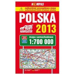 Polska 2013. Mapa Samochodowa 1:700 000 (opr. miękka)