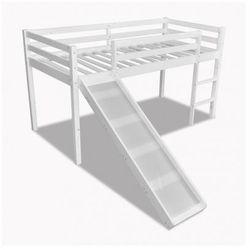 Łóżko dziecięce z drabinką w białym kolorze Zapisz się do naszego Newslettera i odbierz voucher 20 PLN na zakupy w VidaXL!