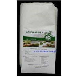 Agrowłóknina wiosenna PP 17 g/m2 biała 3,2 x 10 mb. Paczka o wadze 0,6 kg.