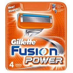 GILLETTE 4szt Fusion Power Wkłady do maszynki do golenia