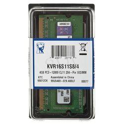 KINGSTON SODIMM DDR3 1600MHz KVR16S11S8/4- wysyłka dziś do godz.18:30. wysyłamy jak na wczoraj!