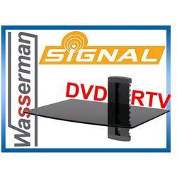Półka ścienna dvd/rtv Signal pojedyncza