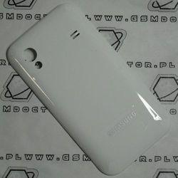 Obudowa Samsung S5830 Ace tylna / pokrywa baterii biała