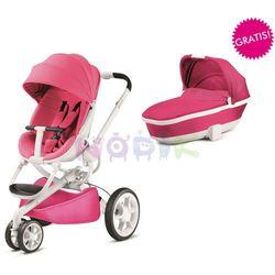 Wózek wielofunkcyjny 2w1 Moodd + GRATIS Quinny (Pink Passion)