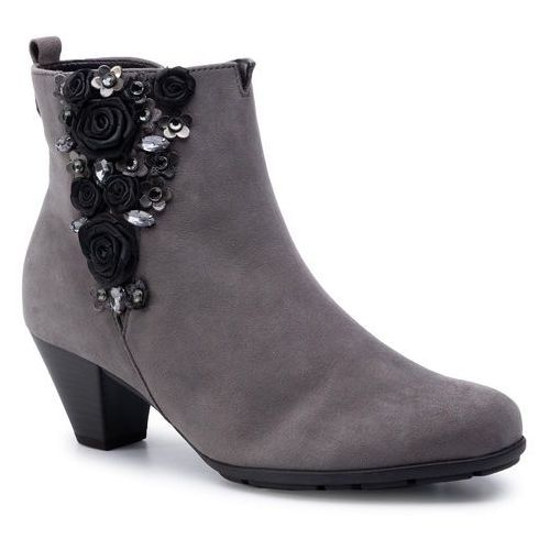 Botki GABOR - 95.643.19 Dark Grey
