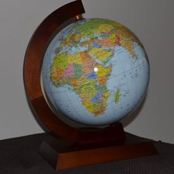 Globus podświetlany polityczno-fizyczny 32cm Zachem