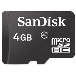Sandisk microSDHC 4 GB
